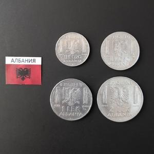 Набор монет Албания 1939-1940 г.
