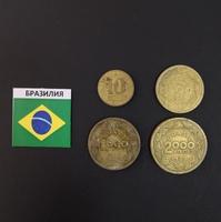 Набор монет Бразилия 1939г., 1943г.