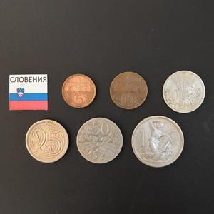 Набор монет Словения 1922г., 1924г., 1931г., 1933г., 1937г., 1938г.