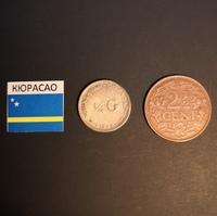 Набор монет Кюрасао 1944г., 1947г.