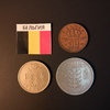 Набор монет Бельгия 1949г., 1954г., 1956г.