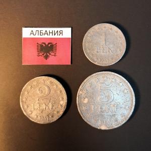 Набор монет Албания 1947г.