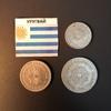 Набор монет Уругвай 1909г., 1936г.