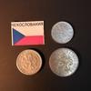Набор монет Чехословакия 1947г., 1950г., 1965г.