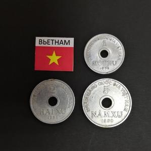 Набор монет Вьетнам 1958г.