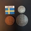 Набор монет Швеция 1907г., 1914г.