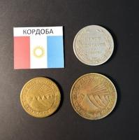 Набор монет Кордоба 1940г., 1943г.