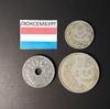 Набор монет Люксембург 1908г., 1913г.