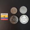 Набор монет Эквадор 1946г., 1963г., 1964г., 1966г.