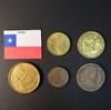 Набор монет Чили 1945г., 1953г., 1965г., 1970г.