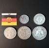 Набор монет ГДР 1957г., 1957г., 1959г., 1965г., 1966г.