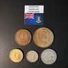 Набор монет Британские Карибские территории 1955г., 1956г., 1965г.