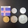 Набор монет Исландия 1957г., 1959г., 1963г., 1967г.