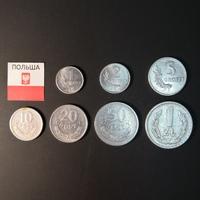 Набор монет Польша 1949г. (7 шт.)