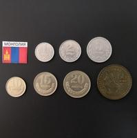 Набор монет Монголия 1970г.