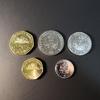 Набор монет Гаити 1995г., 1997г., 2011г., 2013г.