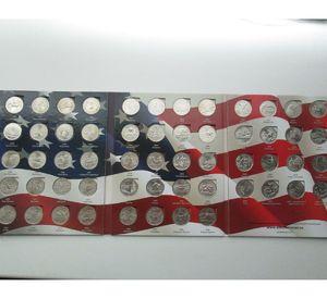 """Набор монет США квотеры """"штаты и территории"""" 56 штук"""