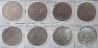 """Набор монет Карибские острова """"ФАО"""" 4 доллара 1970 год 8 шт"""