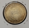 Монета Сальвадор 1 песо 1893 г. Кристобаль Колон серебро (AG)