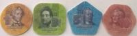 Набор монет Приднестровье 4 шт Пластик