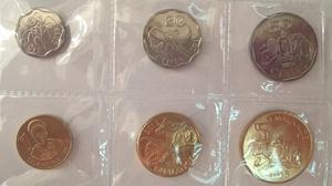 Набор монет Свазиленд 6 шт UNC