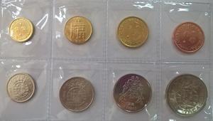 Набор монет Старый Макао 8 шт