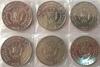 Набор монет Бурунди 2014 Птицы 6 шт