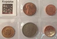 Тематический набор монет Короли 5 шт