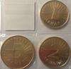 Набор монет Македония 3 шт Фауна UNC