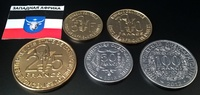 Набор монет Западная Африка набор 5 шт 2011 - 2013 UNC