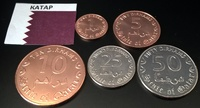 Набор монет Катар 5 шт. UNC