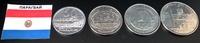 Набор монет ПарагвайНабор монет Парагвай 4шт 2007-2012 гг UNC